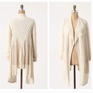 Anthro Angel ofthe North Several Stitches Cardigan